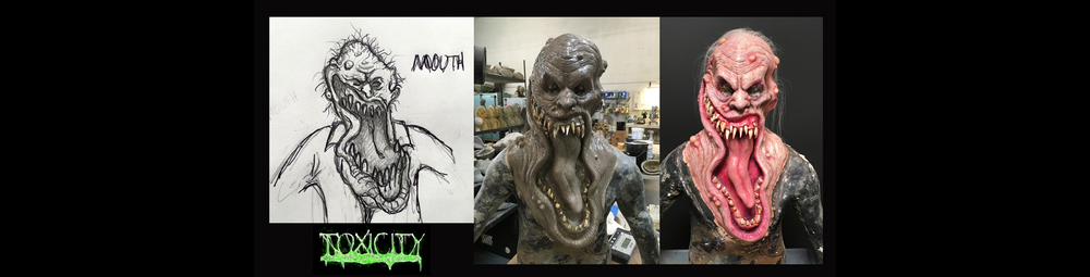 Creature design for creatures coming to the Toxicity scare zone, coming to Midsummer Scream. (Image courtesy of Midsummer Scream)