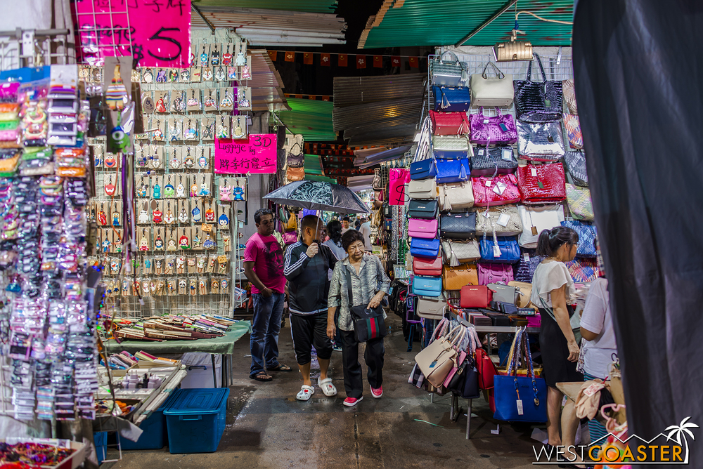 The Temple Street Night Market isn't glitzy, but good hagglers can get good deals.
