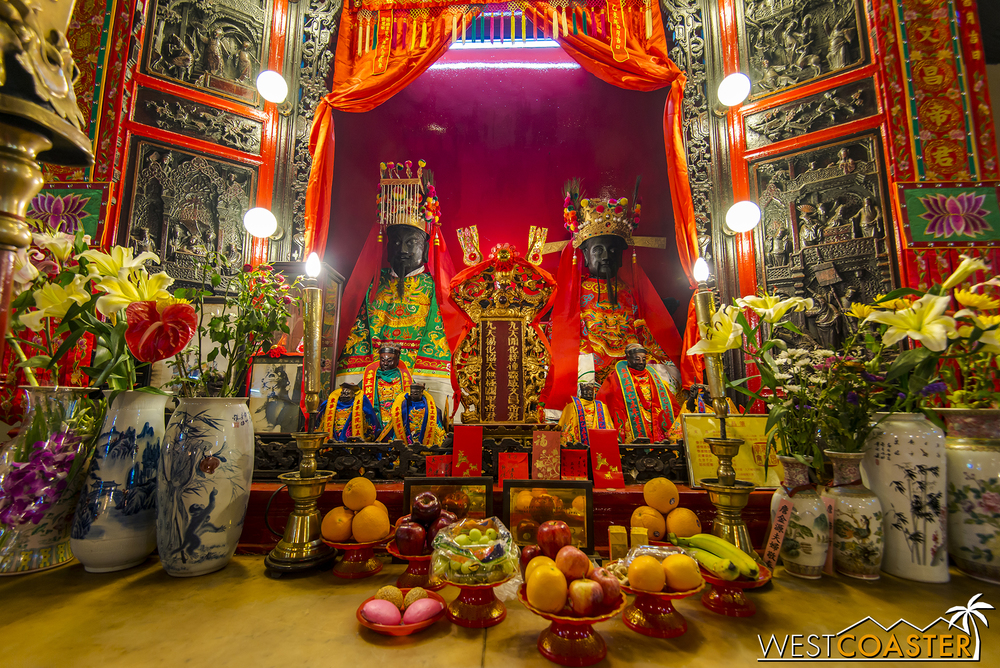 Man Mo Temple is one of Hong Kong's historic landmarks and is located on Hong Kong Island.