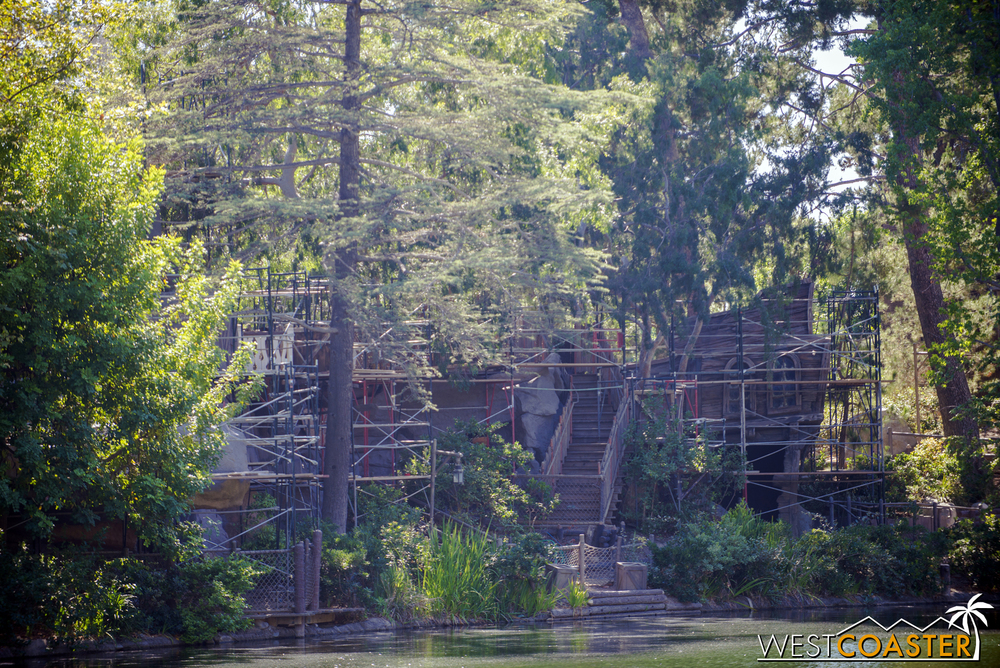 It includes the play areas all the way back to Fort Wilderness.