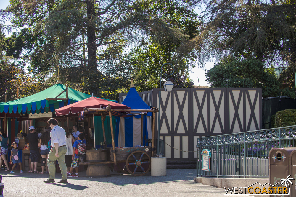 Yes, after over twenty years of just sitting there, the Skyway Chalet in Fantasyland has been removed.