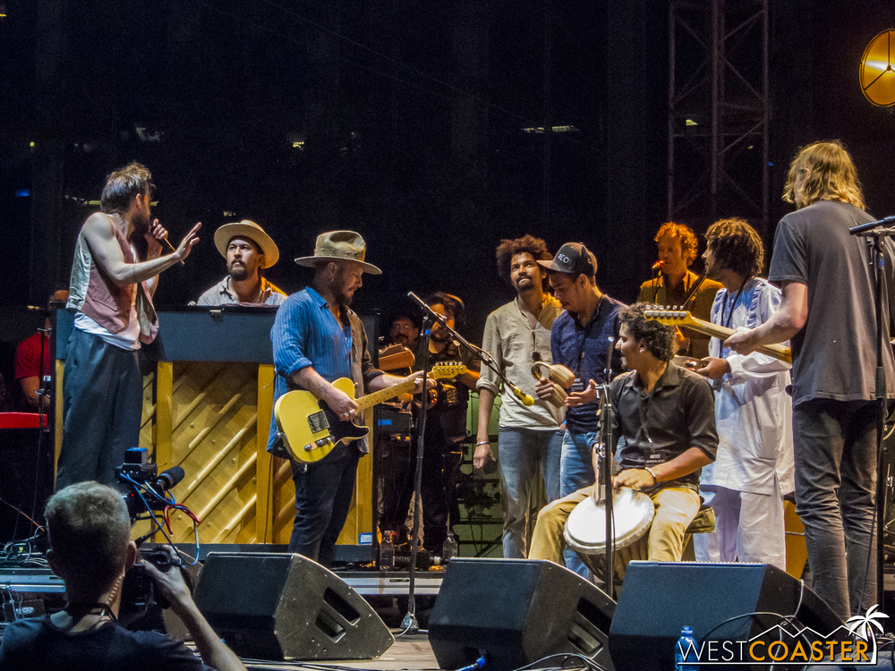 Edward Sharpe and the Magnetic Zeros, with Imarhan