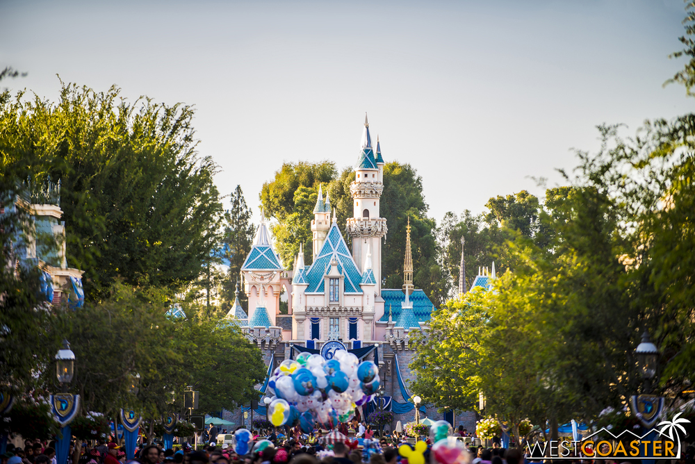 Disneyland is 60... one years old!