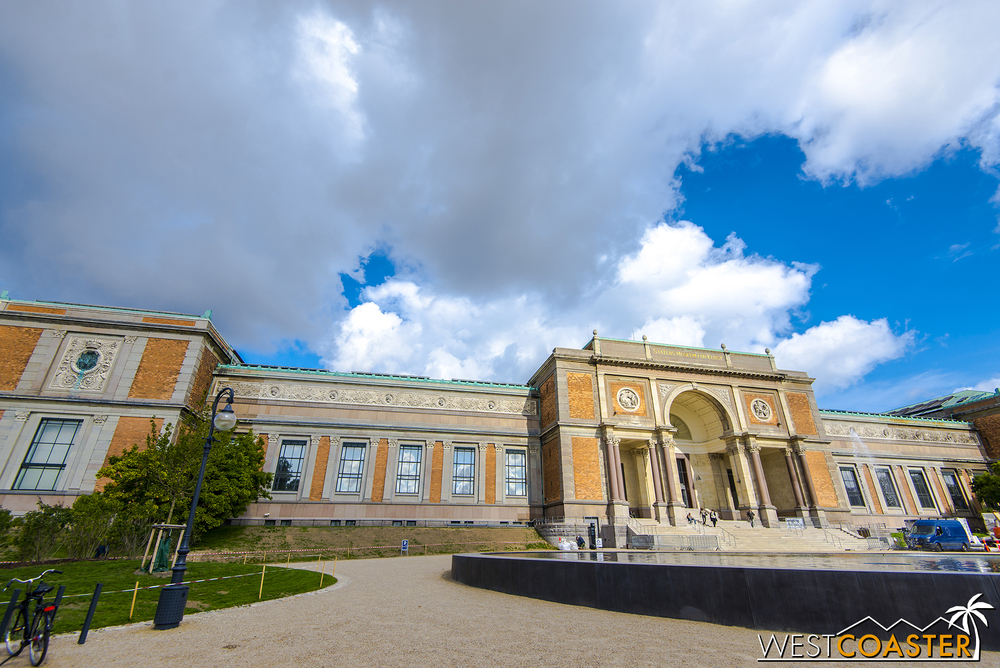 The National Gallery of Denmark is a fantastic modern art museum that will take several hours to peruse.