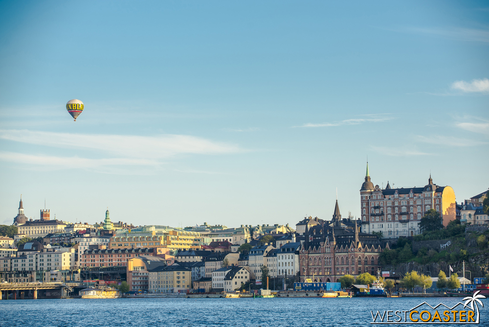 Beautiful waterfront Stockholm is a jewel in Scandinavia, although this summer scene is considerately more comfortable than the harsh winter that sweeps through Sweden.