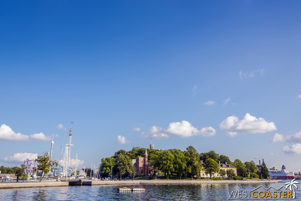 Tiny Skeppsholmen is one of countless islands that make up Stockholm.