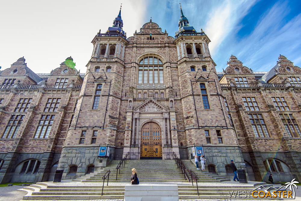 The Nordic Museum covers Scandinavian history, arts, and culture.  It's a fantastic place to explore and highly educational!