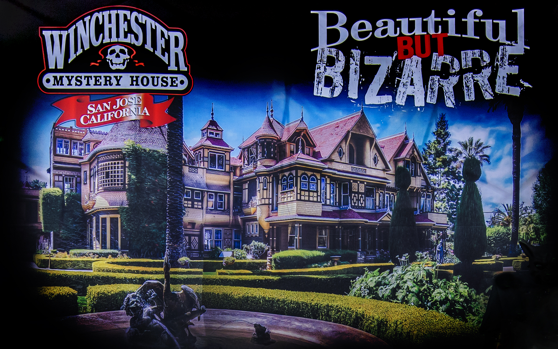 winchester mystery house hallowe'en candlelight tours: 2016 review