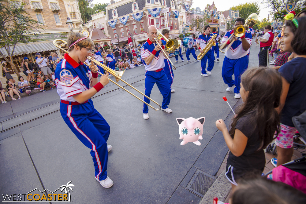 This fun and energetic group plays upbeat marching band versions of popular Disney hits.