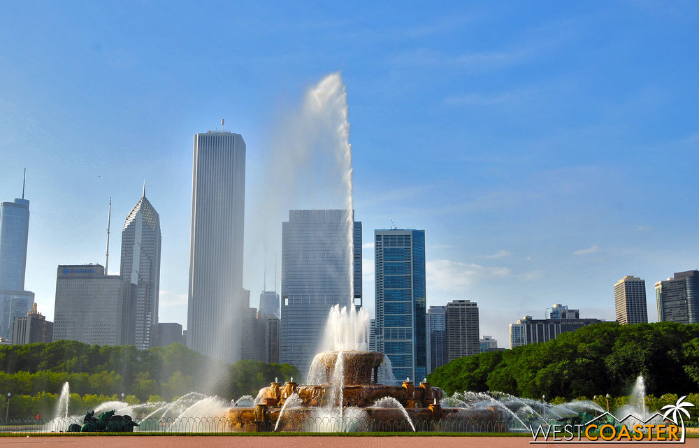 Fans of Married with Children may recognize Buckingham Fountain from the opening credits.