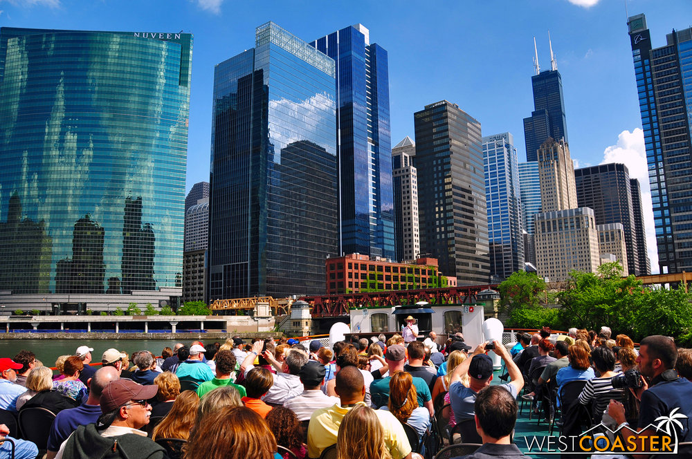 Chicago offers many riverboat architecture tours, but the best one is from the Chicago Architecture Foundation.