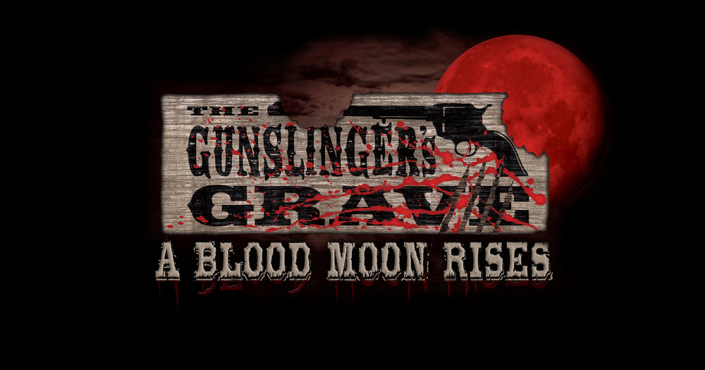 Gunslinger's Grave: A Blood Moon Rises  (Image courtesy of Knott's Scary Farm)