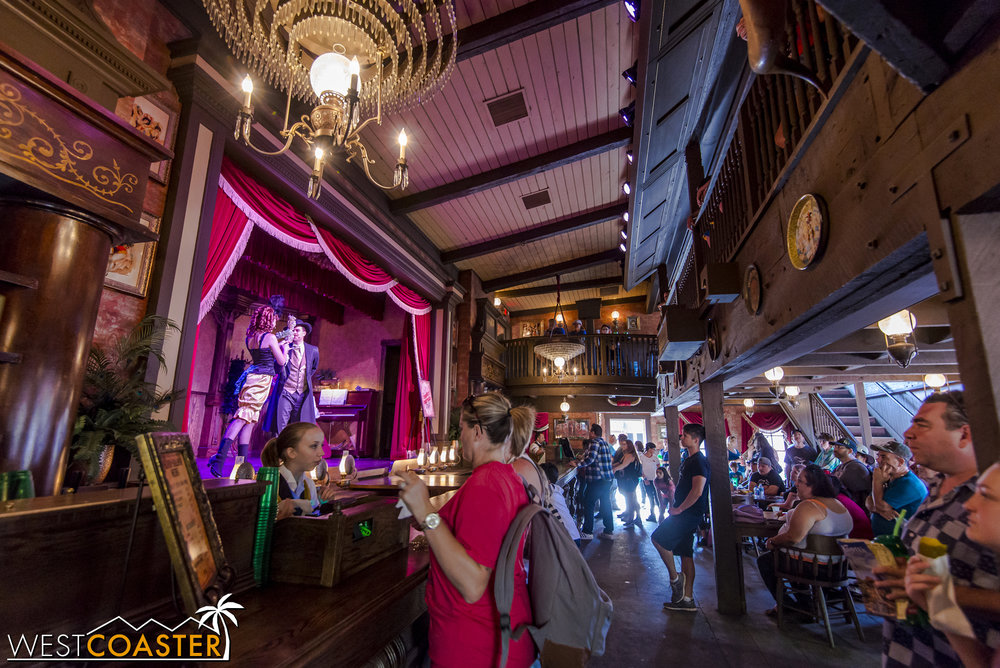 It's a great place to enjoy a boysenberry draft beer and take in some song and dance.