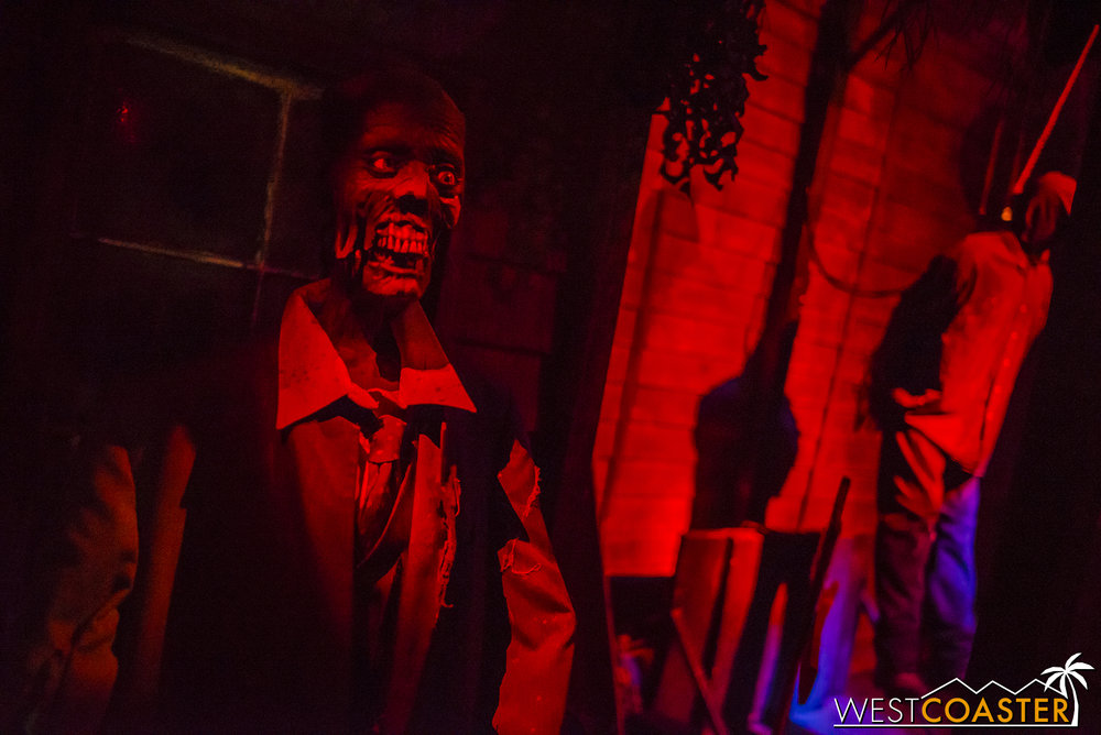 Reign of Terror always brings an extended scare experience with top-notch theming and animatronics.