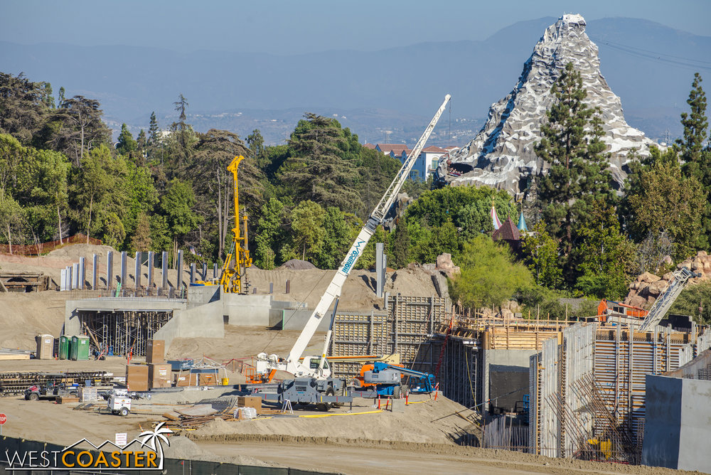 Over in the direction of the Matterhorn, we've got more concrete boxes.