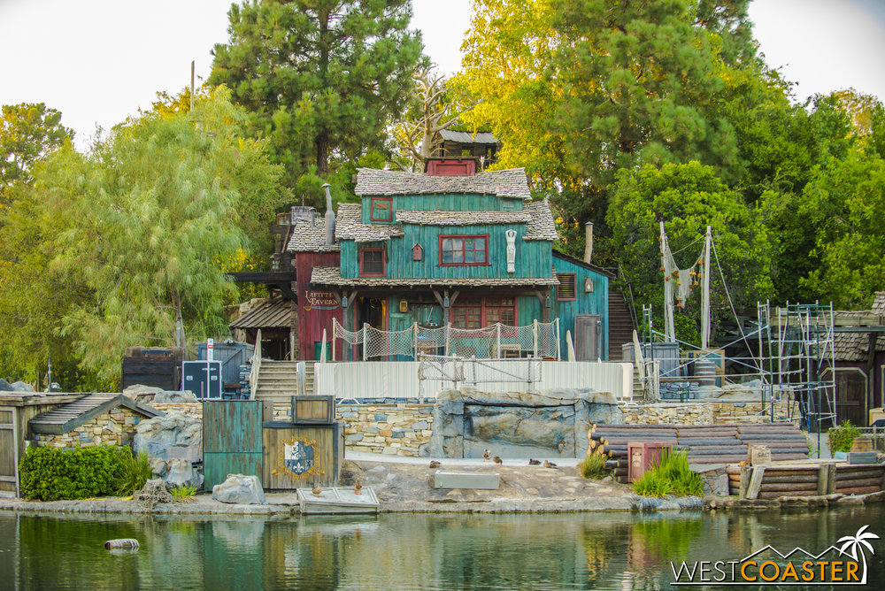 Zooming in a little closer, it would appear that the shoreline prop refurbishing is also done.