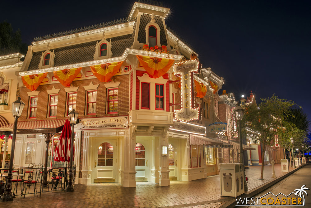 The Carnation Cafe.