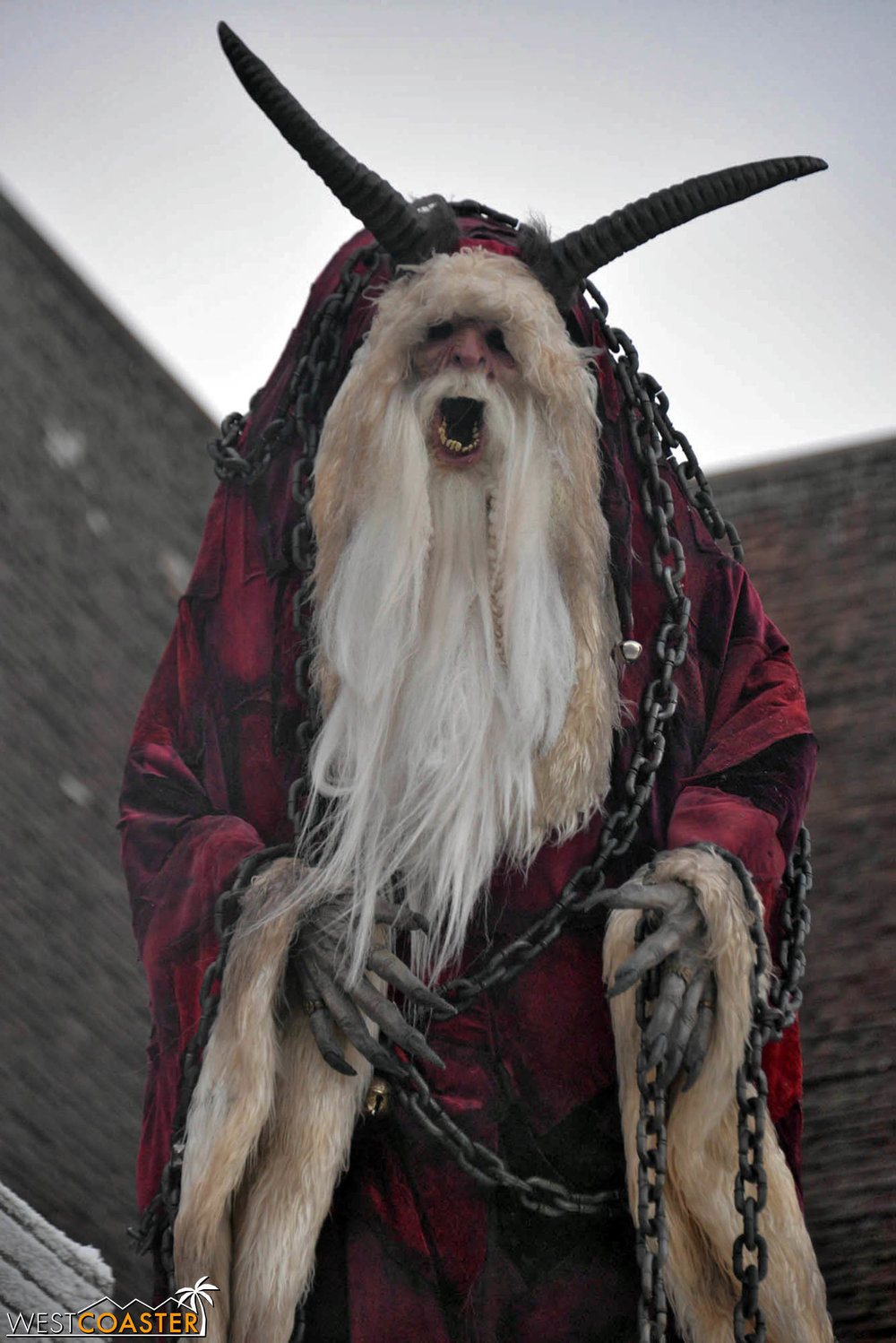 The Krampus himself.