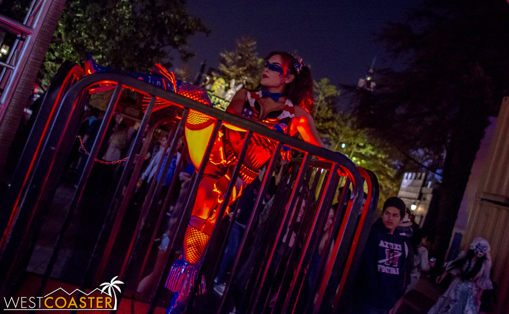 And of course, what is Halloween Horror Nights without the dancers?