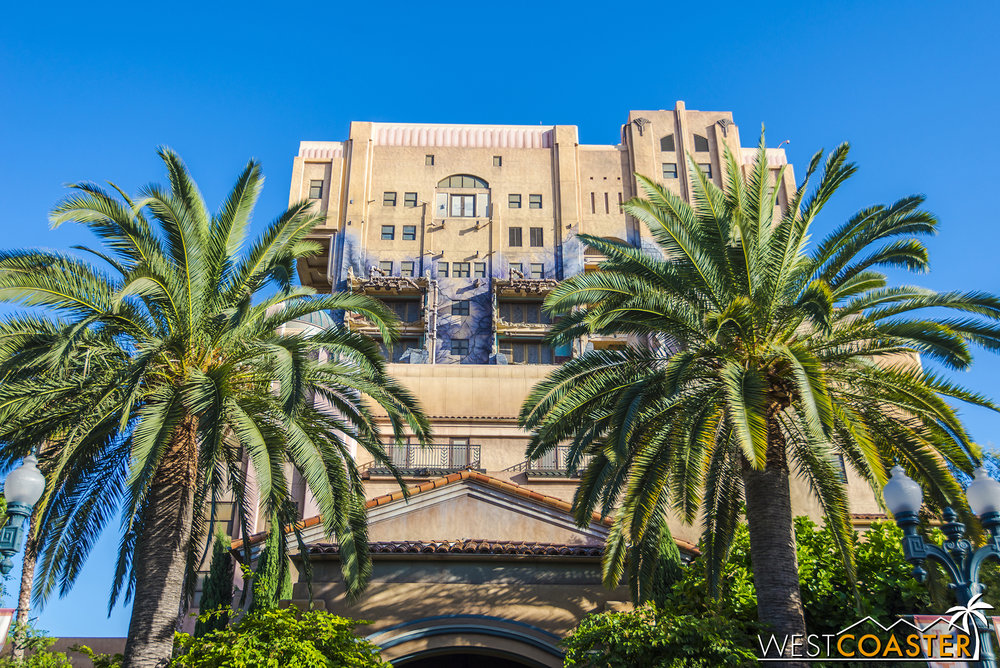 "We're all used to the ""Hollywood Tower of Hotel,"" but it's not like the building looks incomplete without the signage."