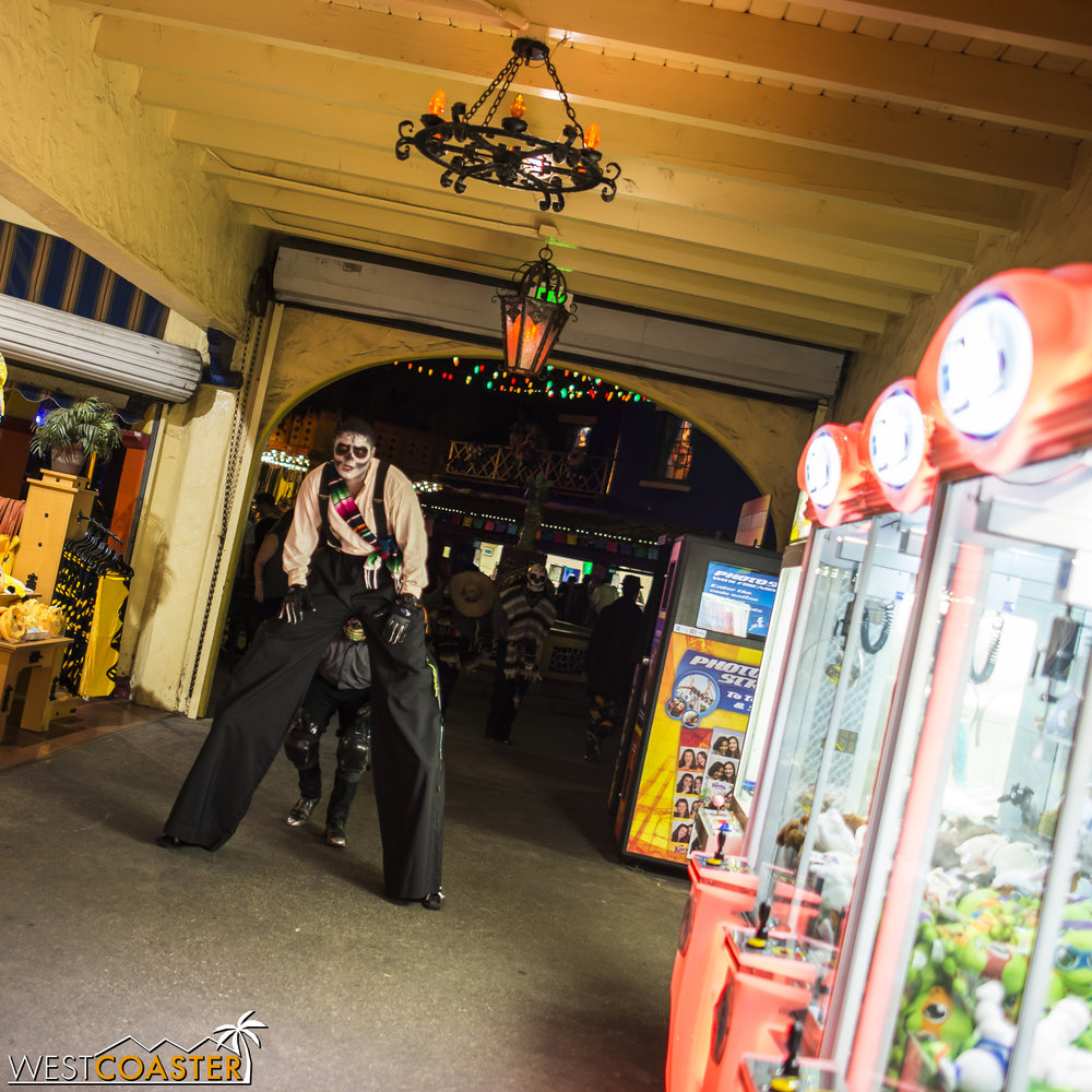 Photog tip: the easiest area to get photos of monsters is in the arcade.