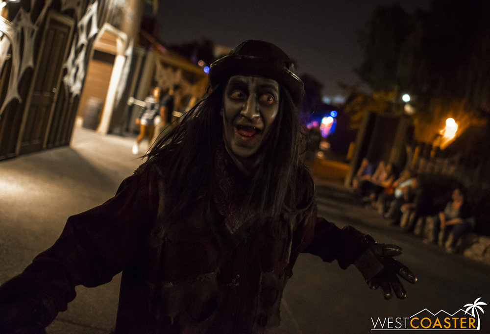 Today, you can see sliders at haunted attractions all over, but they all owe their lineage to Ghost Town.