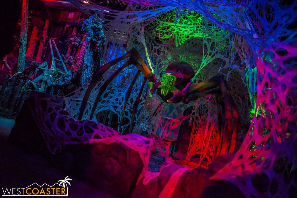 Then we enter spiderland.