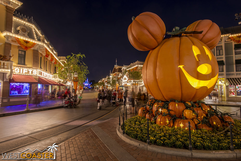 So is the Mickey jack-o-lantern.