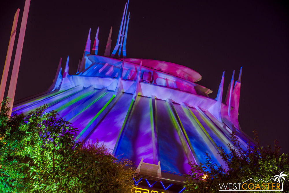 Ghost Galaxy is available to daytime visitors during Halloween Time...