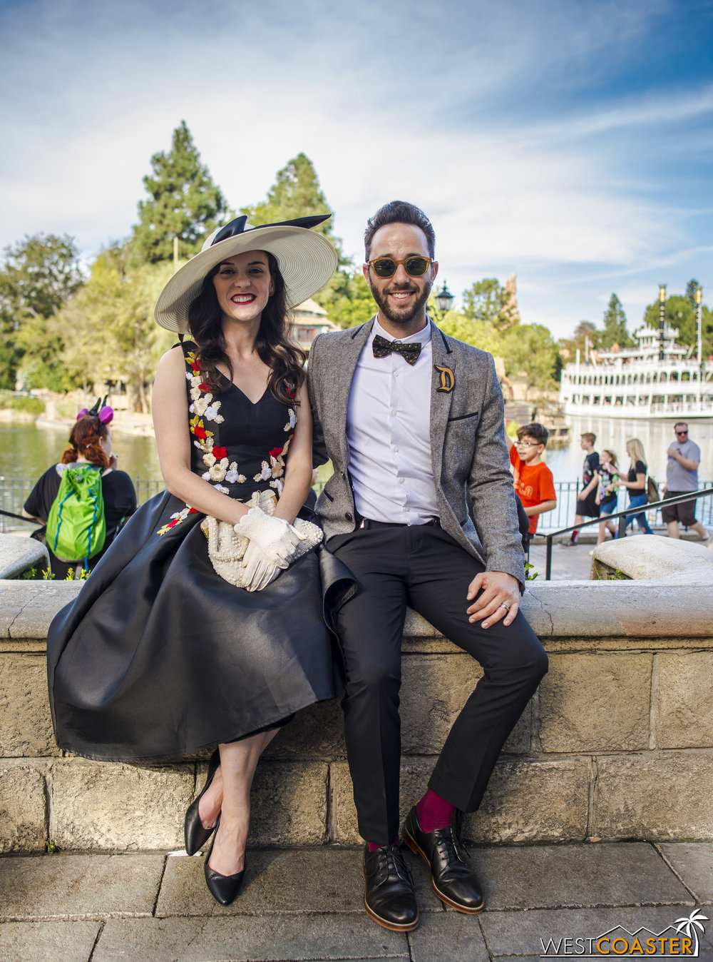 I love the attitude on Dapper Days.  The dressing up makes visiting Disneyland a more overtly special occasion again.