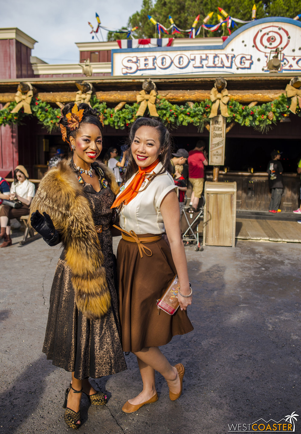 Whatever the inspiration, every participant looks great at Dapper Day!