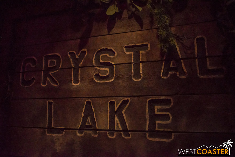 Flash forward to Camp Crystal Lake, home of all the murder.