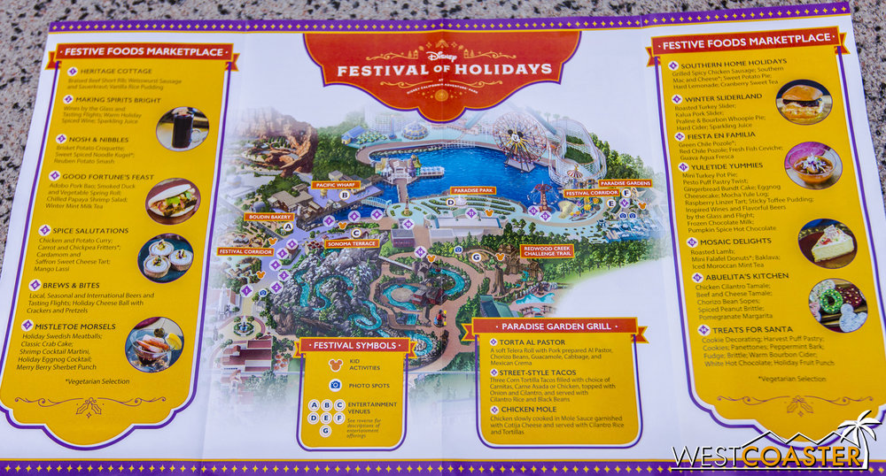 Here's a map of the Festival of Holidays.  It's a special accompaniment to the regular DCA map.