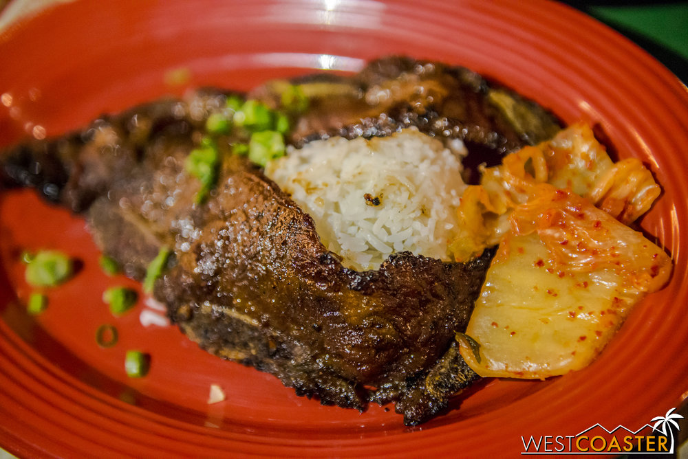Of the Garden Grill dishes we tried, the Kalbi Beef Short Ribs were definitely the best.  It's hard to mess up Korean short ribs anyway, and these were smoky, flavorful, tender, and delicious!