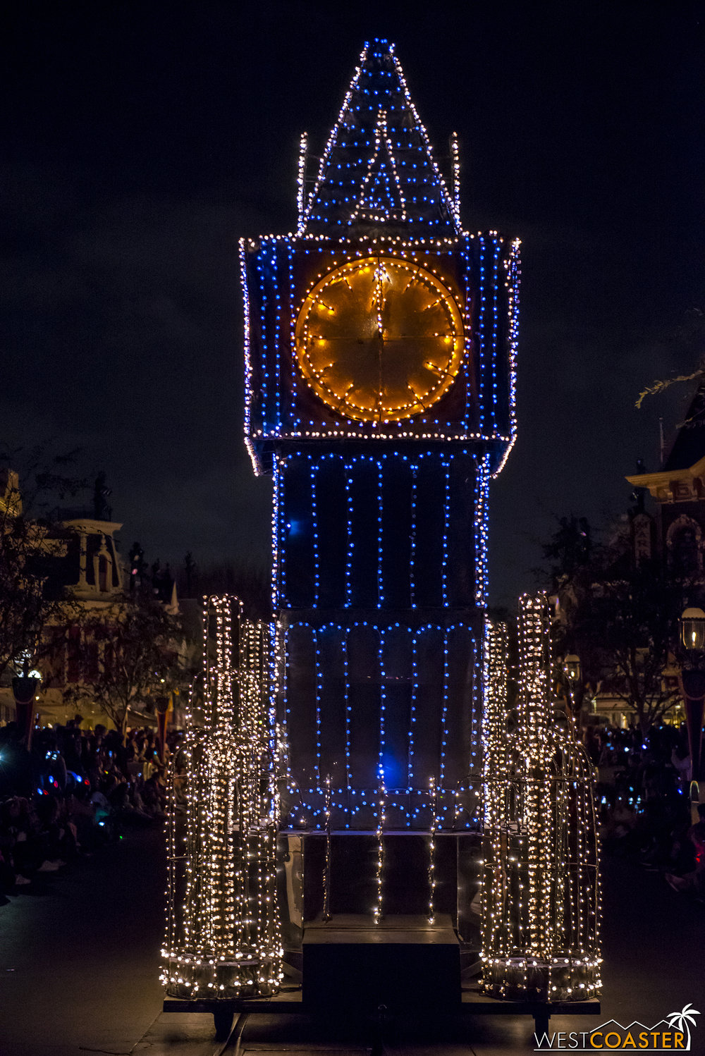 Onto Peter Pan, with a Big Ben float.