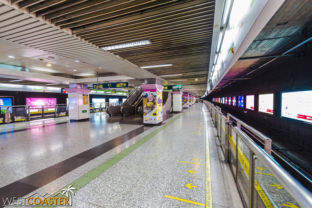 The Shanghai Metro system is clean and modern and bears many design similarities to Hong Kong's excellent system.