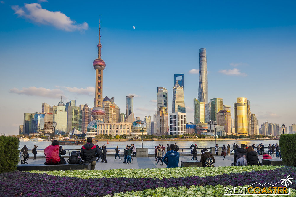 The Bund is one of the most frequented parts of the city and arguably one of the most famous and spectacular walks in the world.
