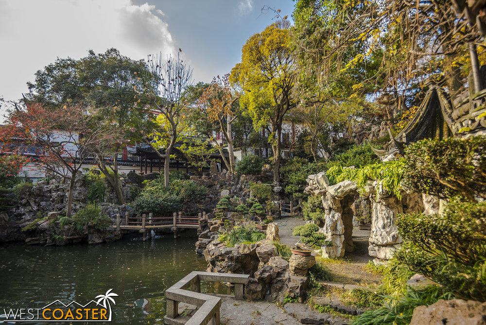 Yuyuan Garden, or Yu Garden, is a living preservation of Suzhou style garden design.