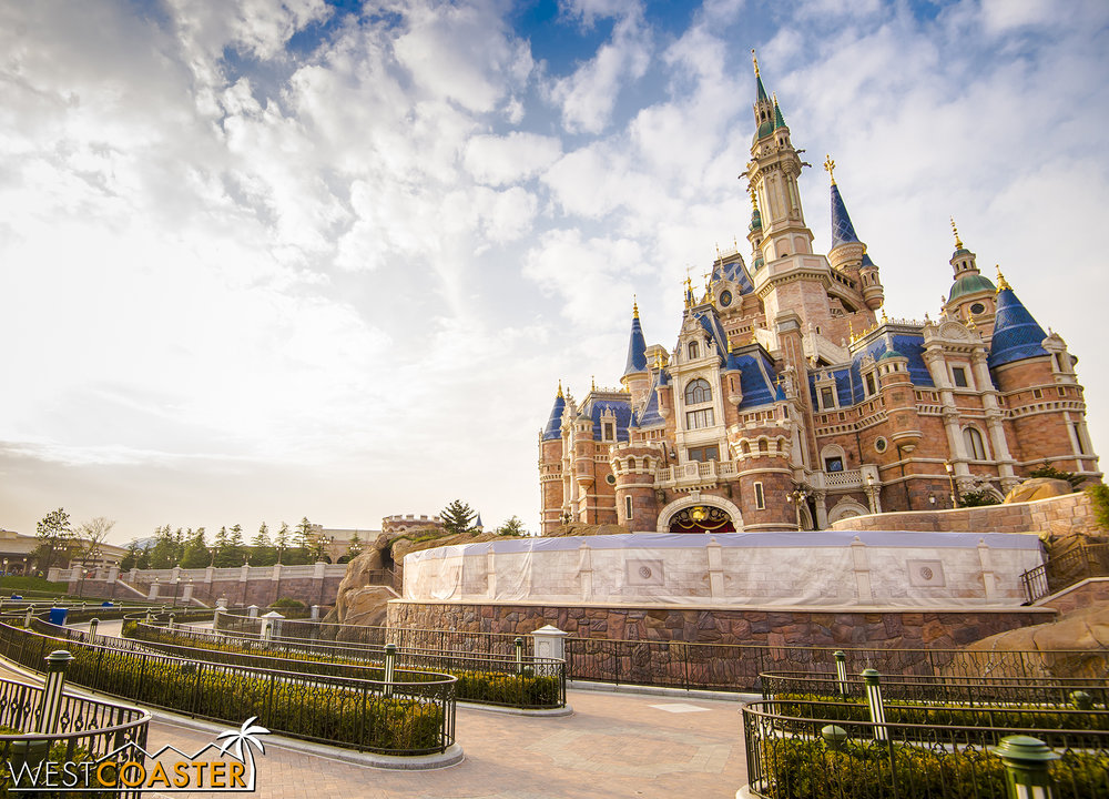 Shanghai Disneyland is Disney's 12th and newest theme park, and its 6th Magic Kingdom.