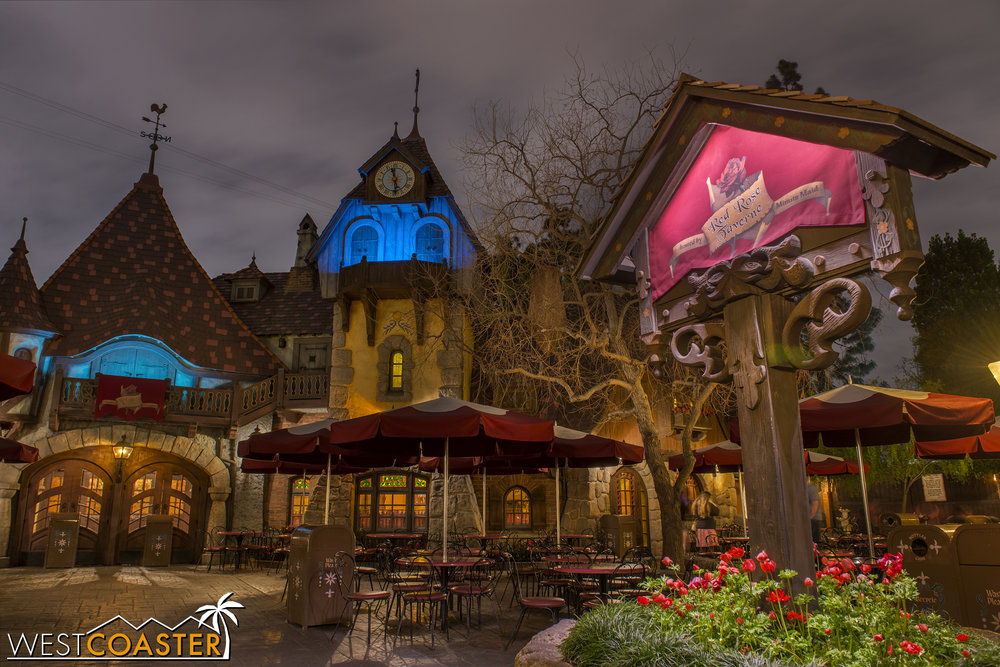 "There's no word on exactly how long this will run, but a couple of cast members offered ""a few months"" as the anticipated timeline.  Hopefully, some of the menu items make it onto the permanent rotation after this limited time experience ends!"