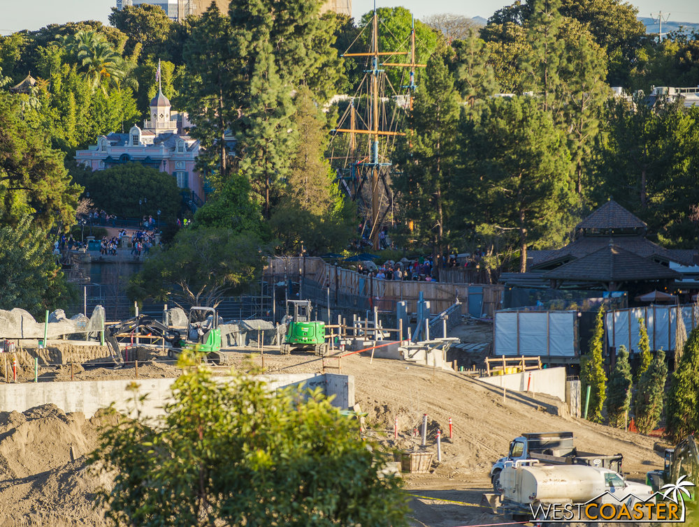 "I did a bit of skittering around this part of Critter Country to verify whether or not my wild speculation of how Critter Country will access ""Star Wars"" Land was accurate."