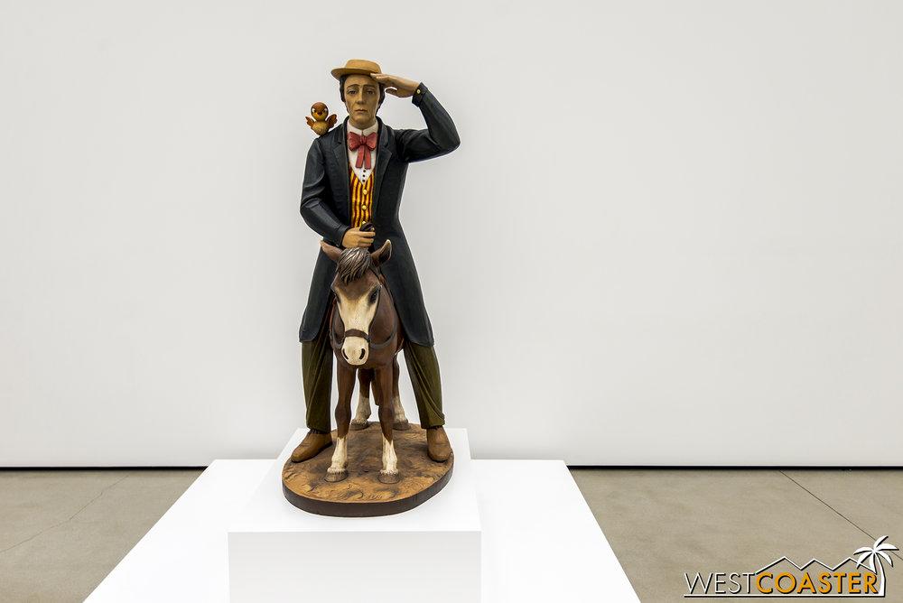 Jeff Koons'  Buster Keaton .