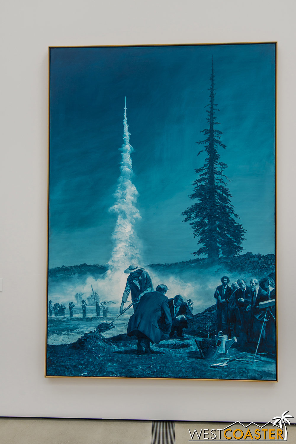 Mark Tansey's  Achilles and the Tortoise.