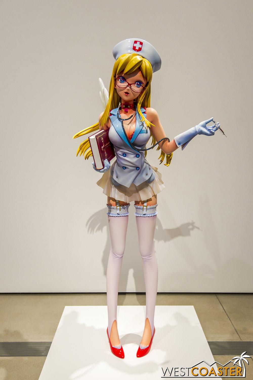 Takashi Murakami's  Nurse K02 .