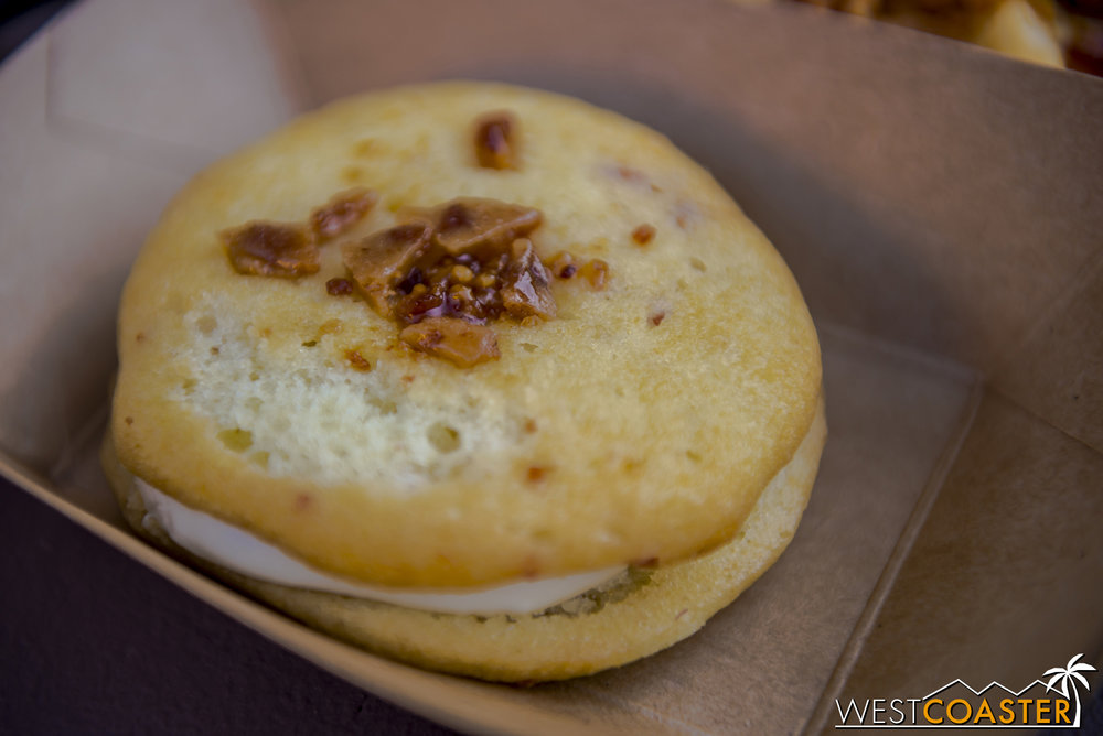 From Bacon Twist:  Maple-Bacon Whoopie Pie   ($4.25)