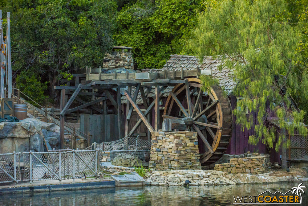 The revamped Tom Sawyer Island is subtly different but looks pretty fantastic!  There are just little touches that make the island richer and more rustic.