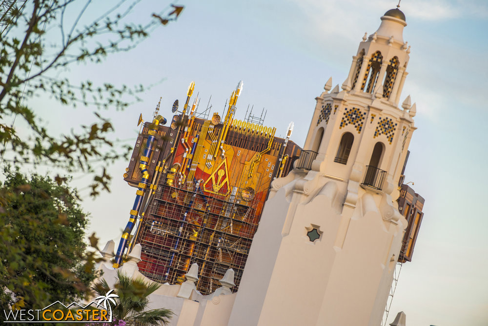 And there's also the approach toward Carthay Circle from Grizzly Peak Airfield.