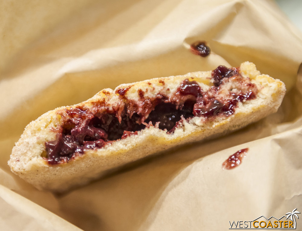 A lot of people questioned the Nutella / boysenberry combo of the Boysenberry Fry Bread, but they work very well.  Add to that the cinnamon and sugar combination on toasted dough evoking a bit of a churro crisp, and you have a great dessert!