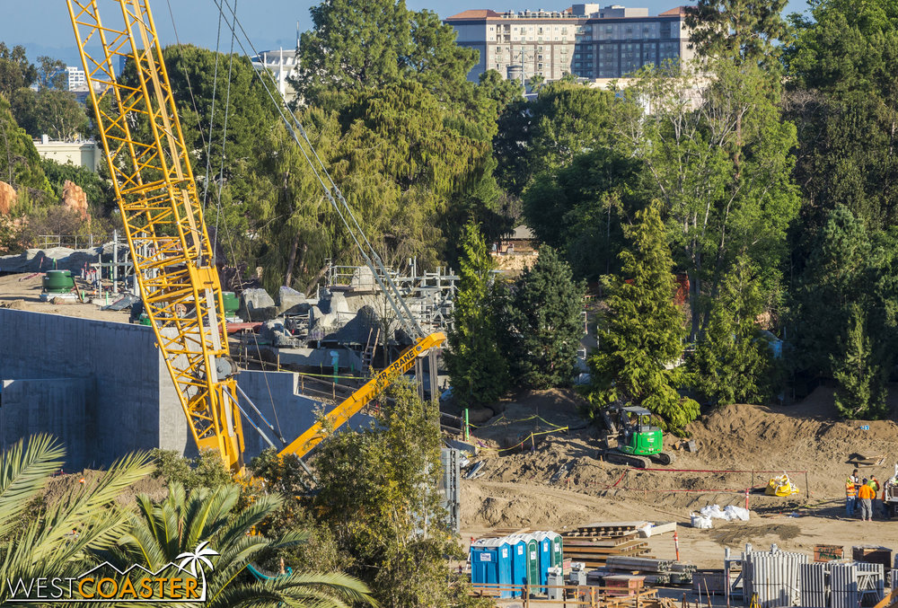 You can start to get a sense of what things are like by comparing these photos with the views from the opposite side in the Rivers of America section.