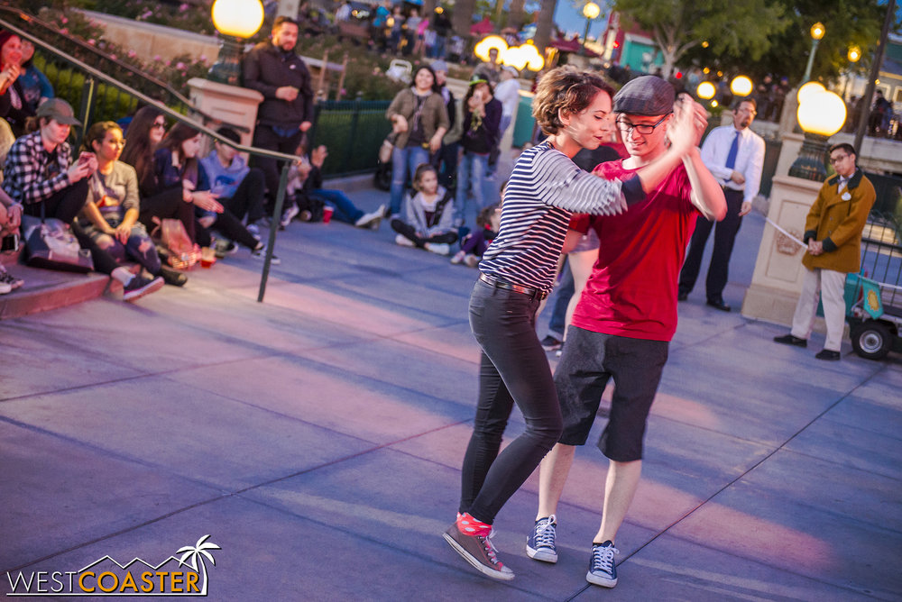 Guess the Fantasy Faire stage isn't the only place to do some swing.